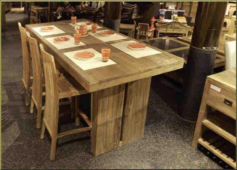 Teak Dining Table Furniture Manufacturer3
