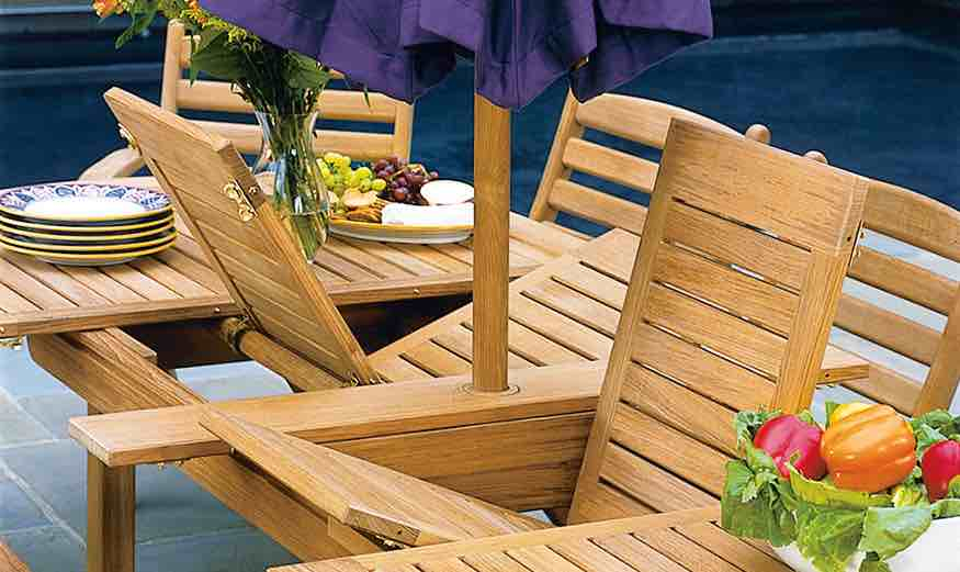 Forged Aluminum Patio Furniture Deals BAGOES TEAK Furniture