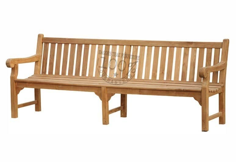 with size 240 x 73 x 91 cm - Teak Bench