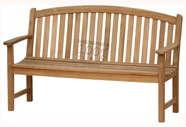 BB-008-BOW-BACK-TEAK-BENCH-150CM