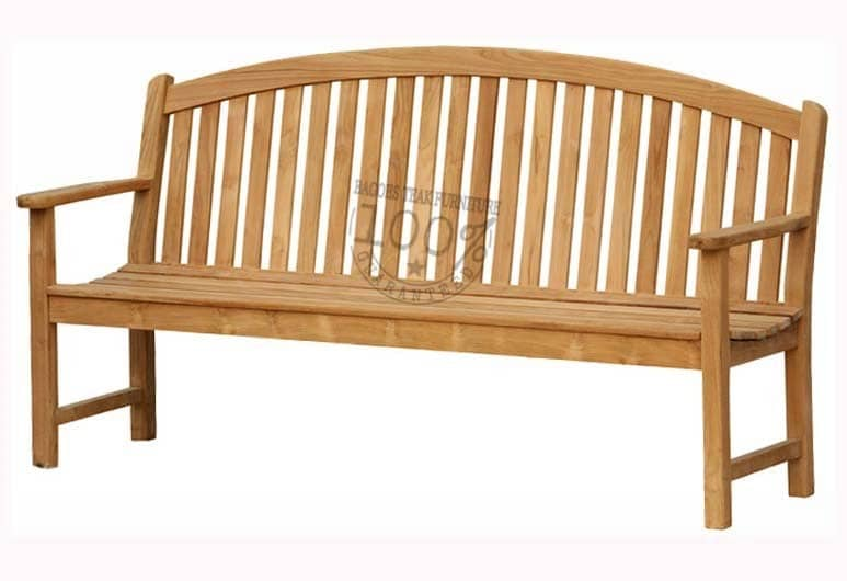 BB-009-BOW-BACK-TEAK-BENCH-180CM