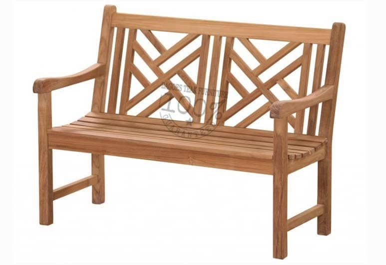 BB-010-CROSS-TEAK-BENCH-120CM
