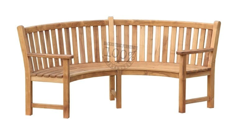 BB-013-CURVED-TEAK-BENCH-WITH-ARM-197CM