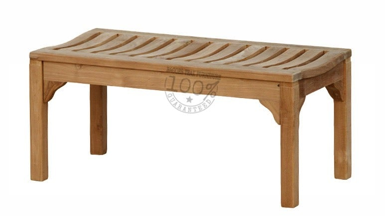 BB-055-MADISON-BACKLESS-TEAK-BENCH-100CM