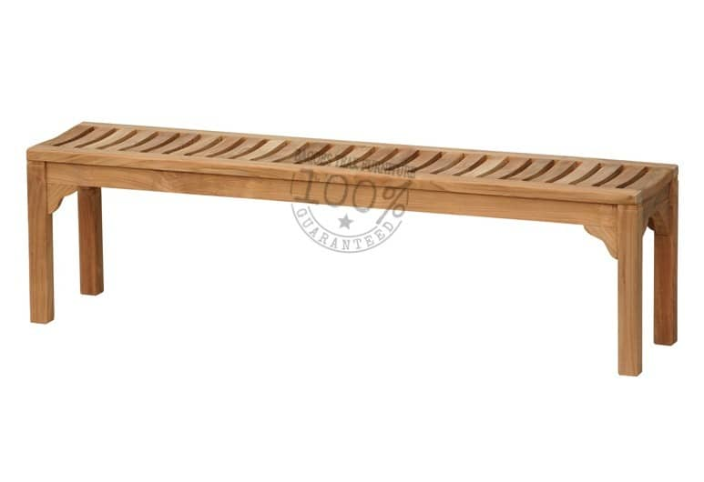 BB-058-MADISON-BACKLESS-TEAK-BENCH-180CM