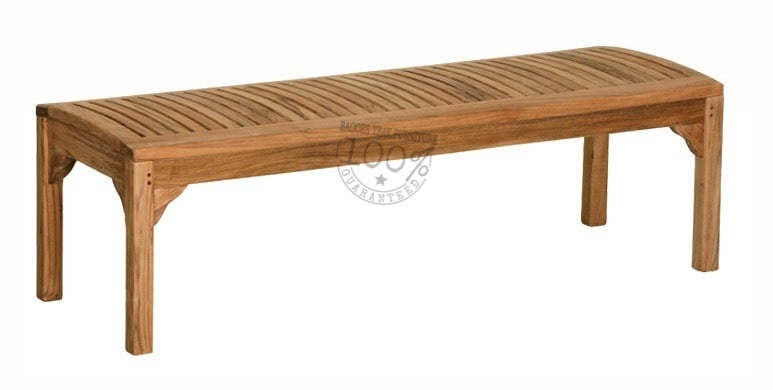 BB-062-MARLEY-BACKLESS-TEAK-BENCH-180CM