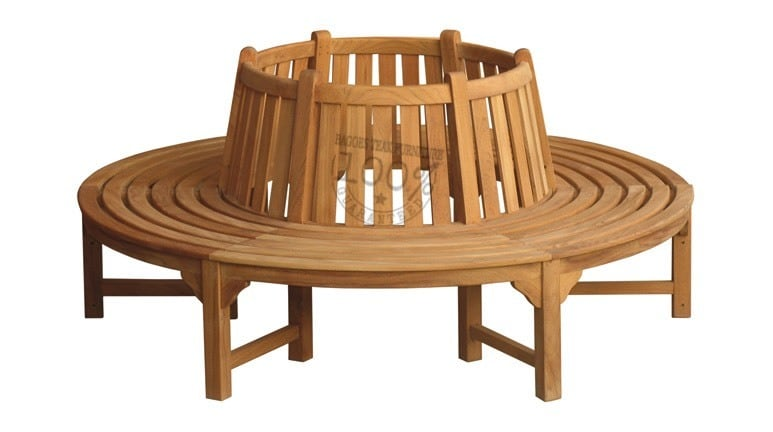 BB-071-ROUND-TREE-TEAK-BENCH