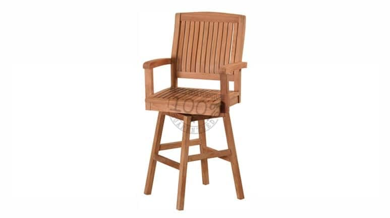 BC-002-MARLEY-SWIVEL-BAR-TEAK-CHAIR