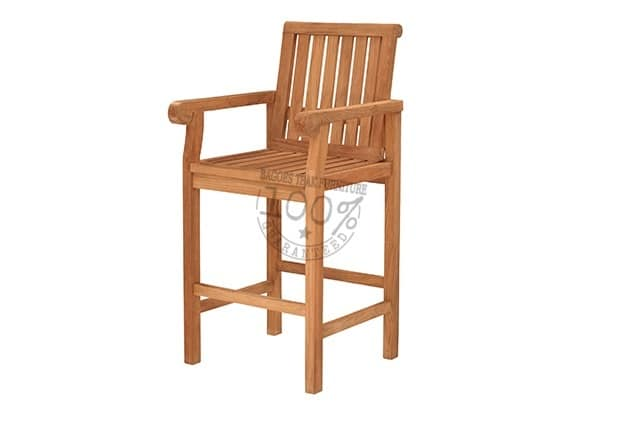 BC-009-VIKING-BAR-ARM-TEAK-CHAIR