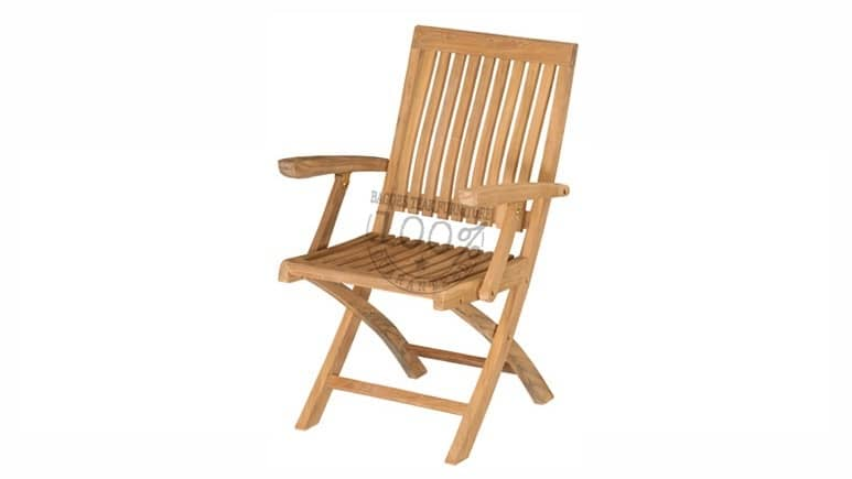 BC-031-MONACO-FOLDING-ARM-TEAK-CHAIR