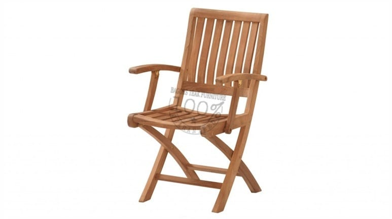 BC-033-TORAJA-FOLDING-ARM-TEAK-CHAIR