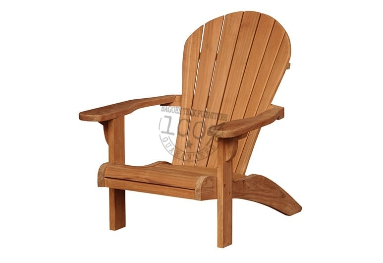BC-040-NEW-ADIRONDACK-TEAK-CHAIR-WO-FOOTSTOOL