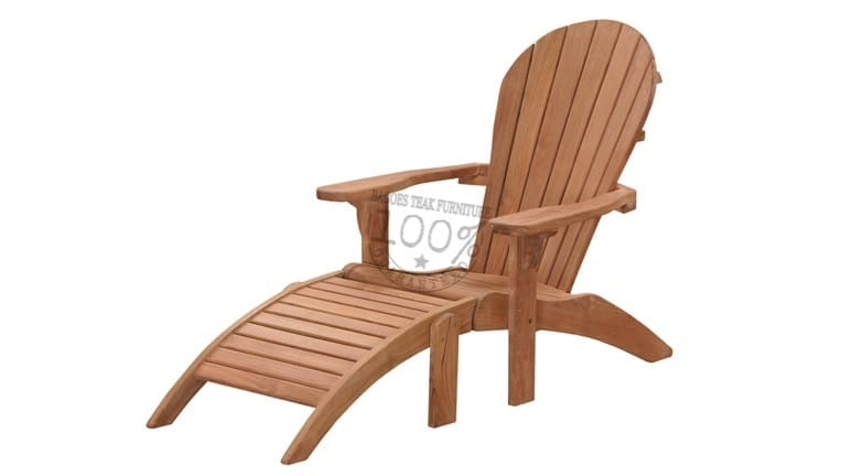 BC-043-NEW-ADIRONDACK-TEAK-CHAIR-HIGHBACK-W-FOOTSTOOL