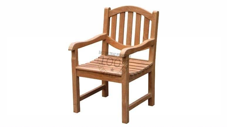 BC-072-OVAL-ARM-TEAK-CHAIR