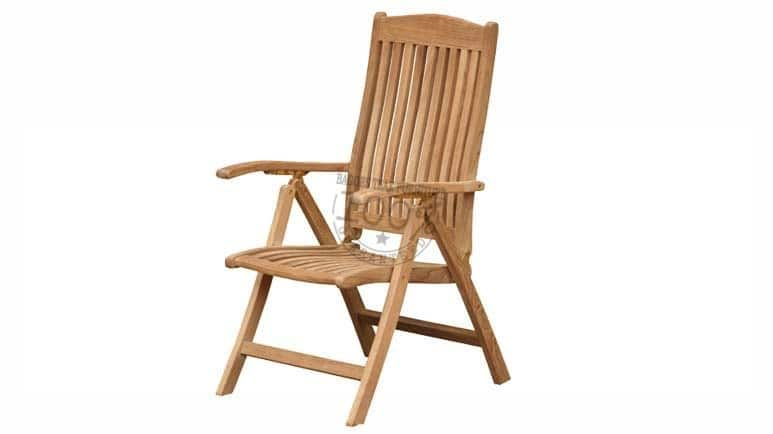 BC-095-MADISON-RECLINING-TEAK-CHAIR