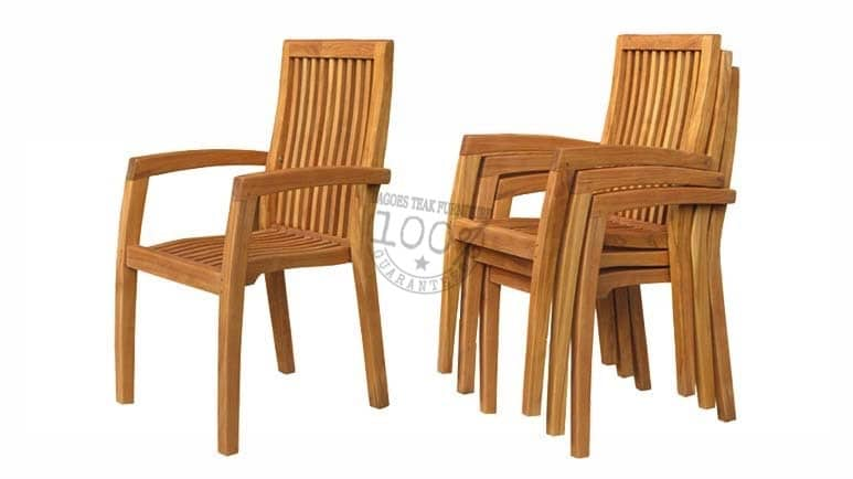 BC-113-CASAGRANDE-STACKING-ARM-TEAK-CHAIR
