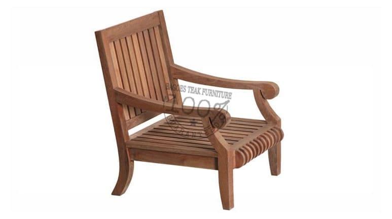 bds 001 bristol teak lounge chair 73x80x95cm - Garden Furniture Teak