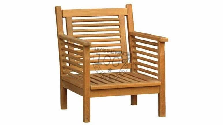 Outdoor Teak Deep Seating